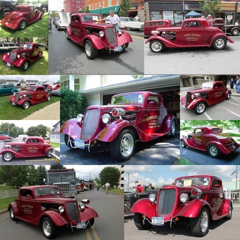 "Les Wainman's '34 Ford ""Fire Chief's Car"""