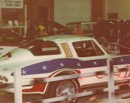 vette1977 graveyard display